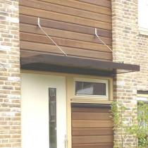 Aluminium deurluifel zorgt voor een schone woning
