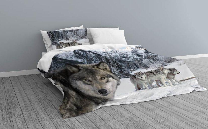 Het veranderen van je slaapkamer met een dekbedovertrek