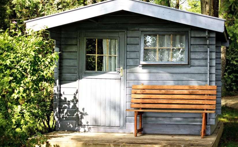 Waarom een tuinhuisje ideaal is!